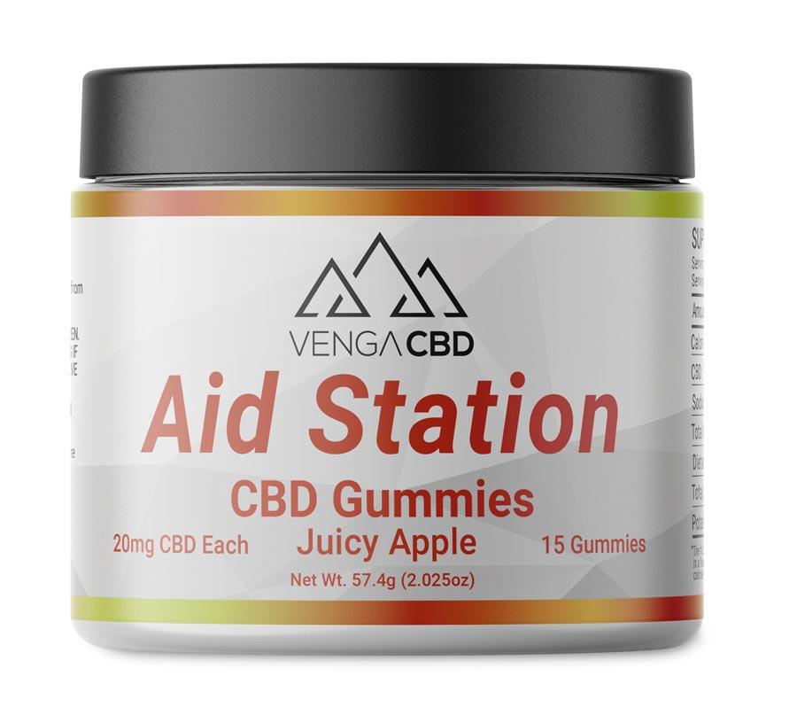 Venga CBD Aid Station Gummies