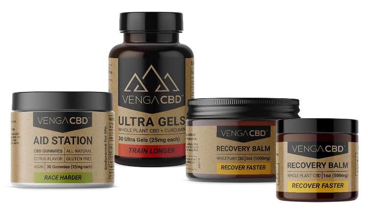 Venga CBD Made for Endurance Athlete