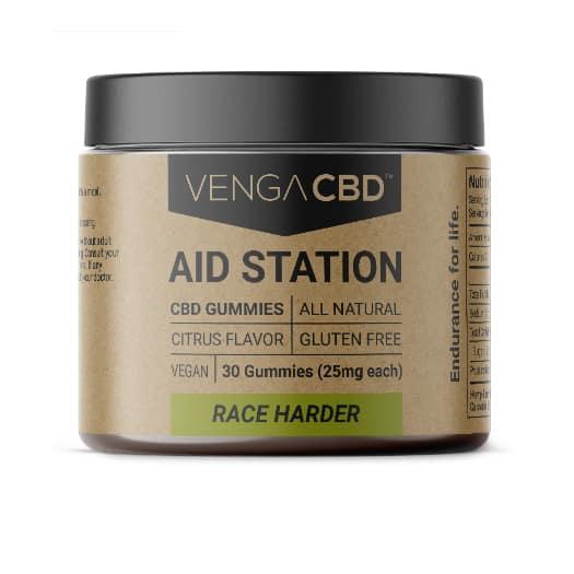 Venga CBD Aid Station