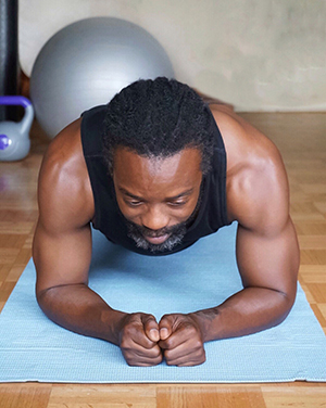 plank pose workout