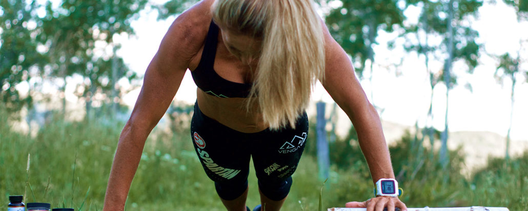 Heather Gollnick training