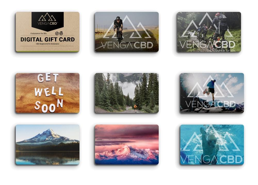 Venga Gift Card Designs