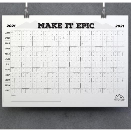 2021 Training Calendar