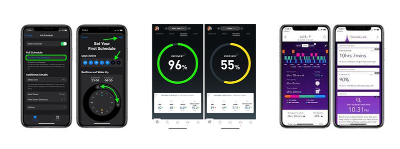 apps to help athletes sleep